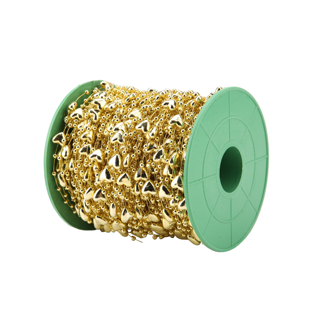 1roll Bead Thread Stretch Plastic Pearl String Cord For
