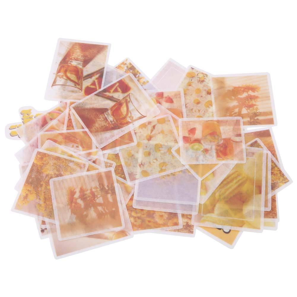 60Pcs-set-DIY-Paper-Stickers-Label-Scrapbooking-Stickers-Journal-Diary-Stickers thumbnail 15