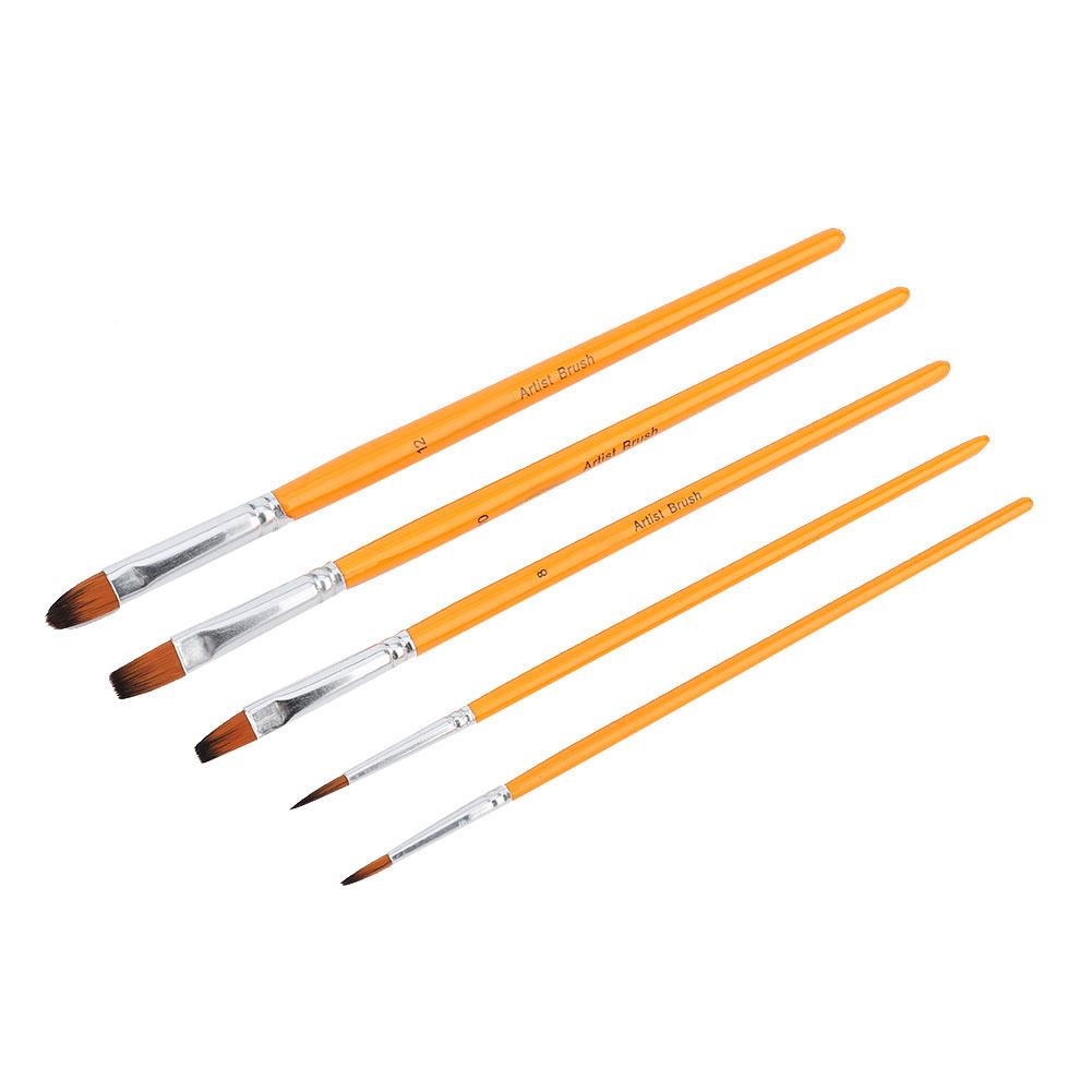 Multi-Types-Professional-Art-Artist-Paint-Brush-Set-Oil-Acrylic-Watercolour thumbnail 44