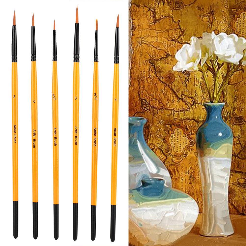 Multi-Types-Professional-Art-Artist-Paint-Brush-Set-Oil-Acrylic-Watercolour thumbnail 14
