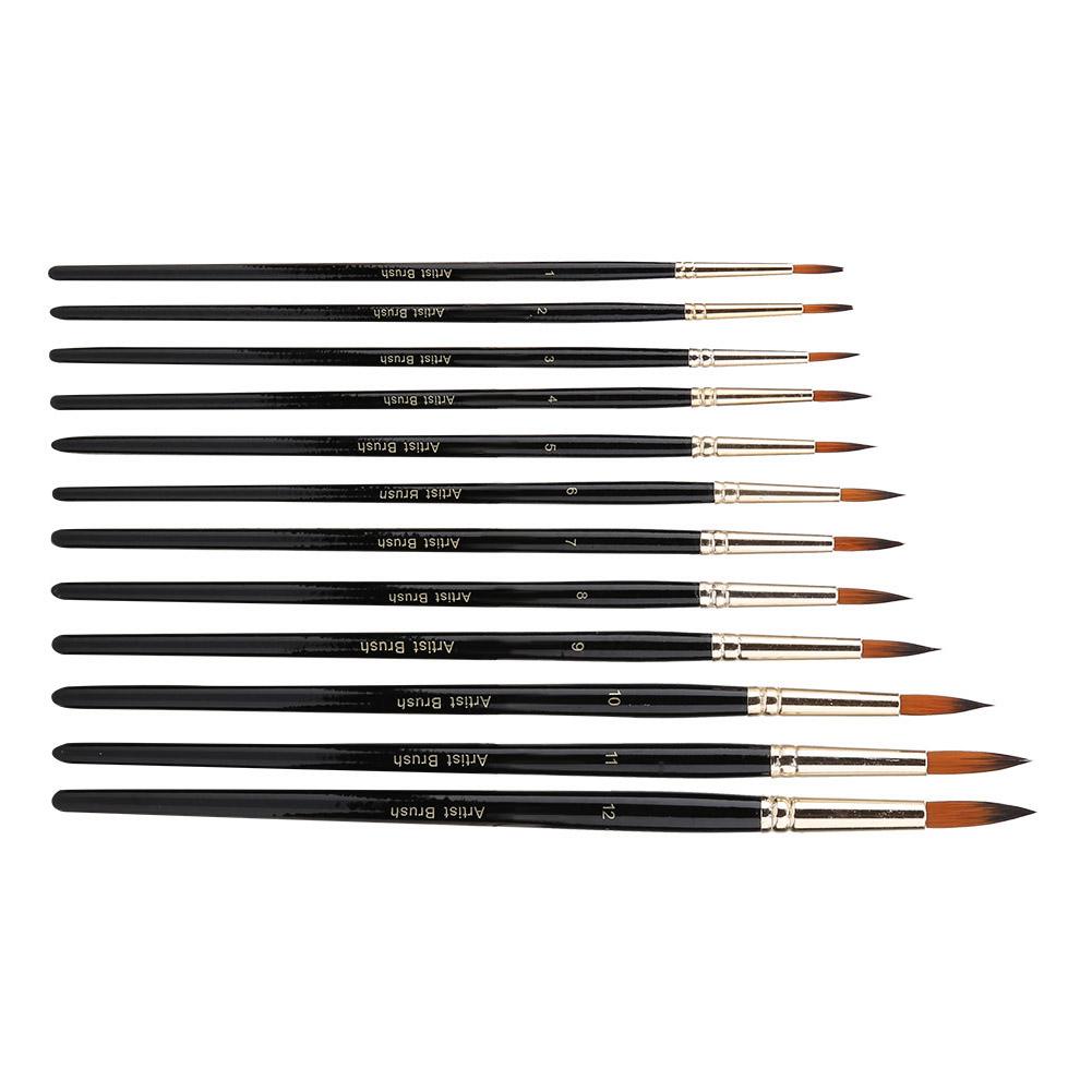 Multi-Types-Professional-Art-Artist-Paint-Brush-Set-Oil-Acrylic-Watercolour thumbnail 89