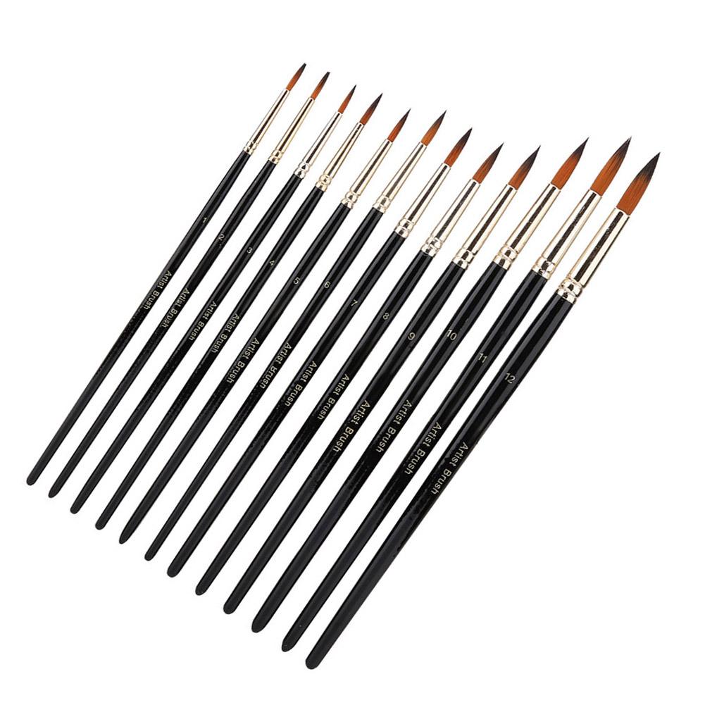 Multi-Types-Professional-Art-Artist-Paint-Brush-Set-Oil-Acrylic-Watercolour thumbnail 90