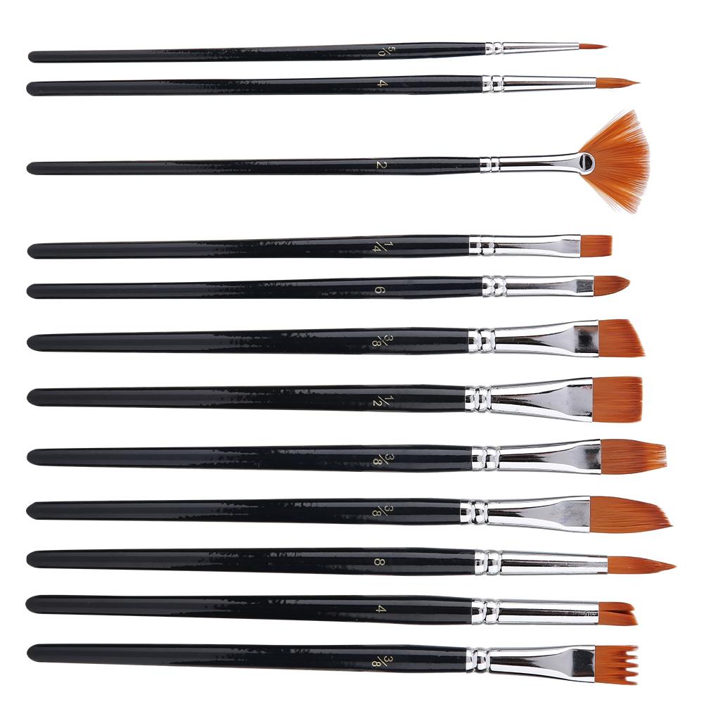 Multi-Types-Professional-Art-Artist-Paint-Brush-Set-Oil-Acrylic-Watercolour thumbnail 86