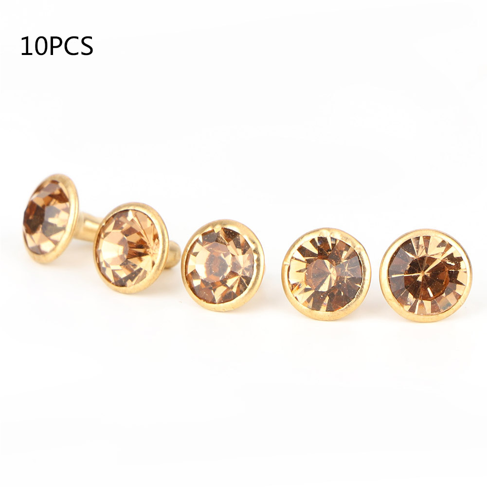 6-7-8-10mm-Rhinestone-Diamond-Crystal-Rivets-Studs-Leather-For-Bags-Shoe-Decor miniature 28