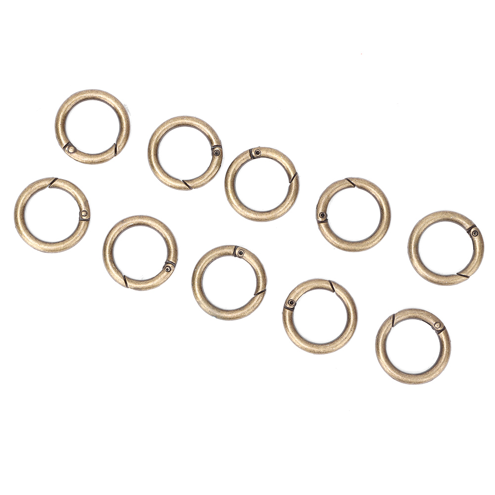 DIY-Alloy-Snap-Clasp-Round-Ring-Conecting-Buckle-Clothes-Handbag-Accessories thumbnail 18