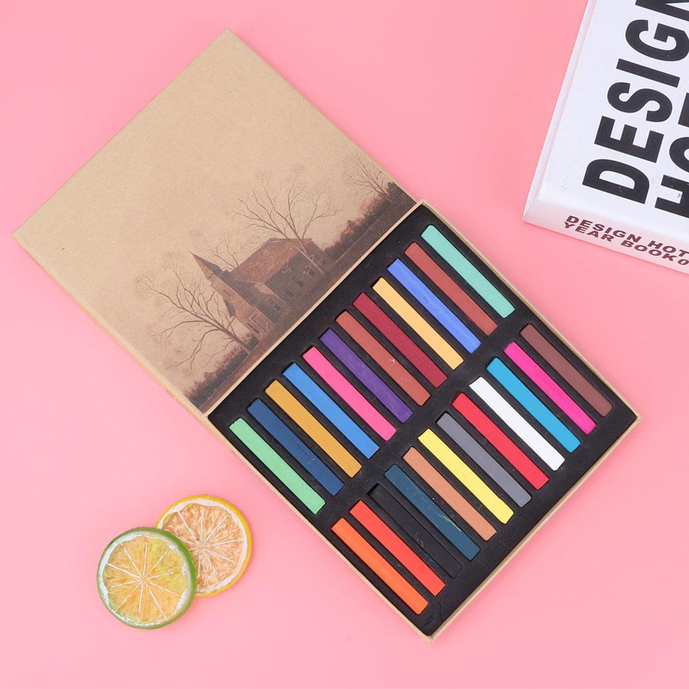 Sketch-Drawing-Art-Set-Painting-Color-Artist-Kit-Pencil-Pastel-12-24-36-48-Color thumbnail 13