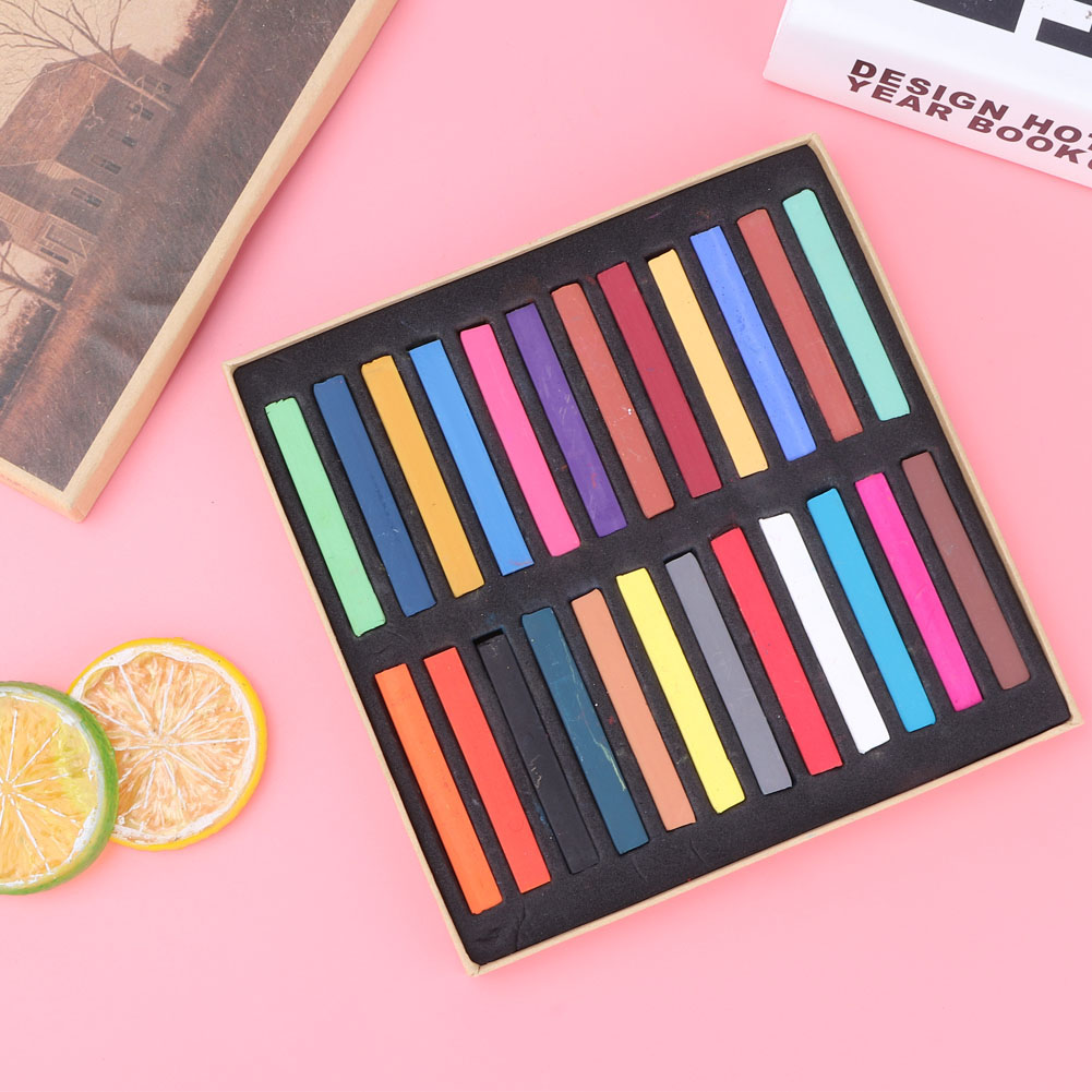 Sketch-Drawing-Art-Set-Painting-Color-Artist-Kit-Pencil-Pastel-12-24-36-48-Color thumbnail 14