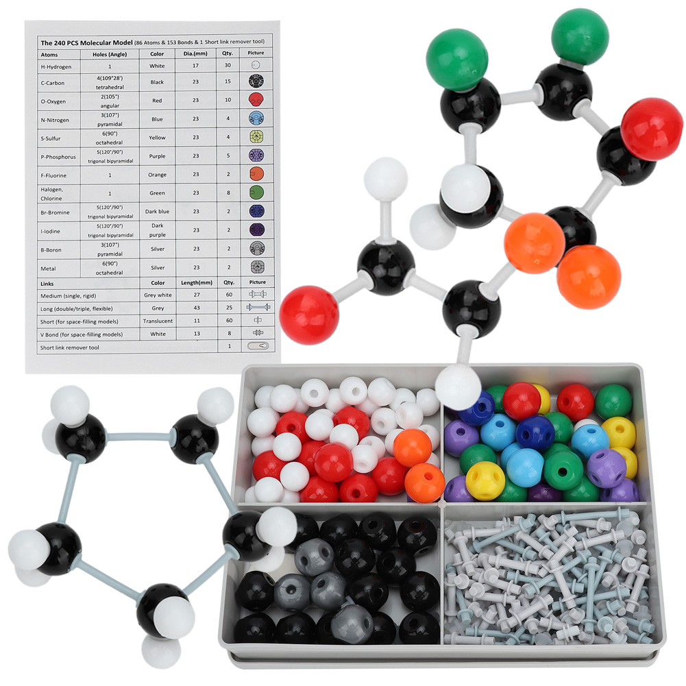 Details about Organic Chemistry Scientific for Atom Molecular Structure  Model Teach Set Kit