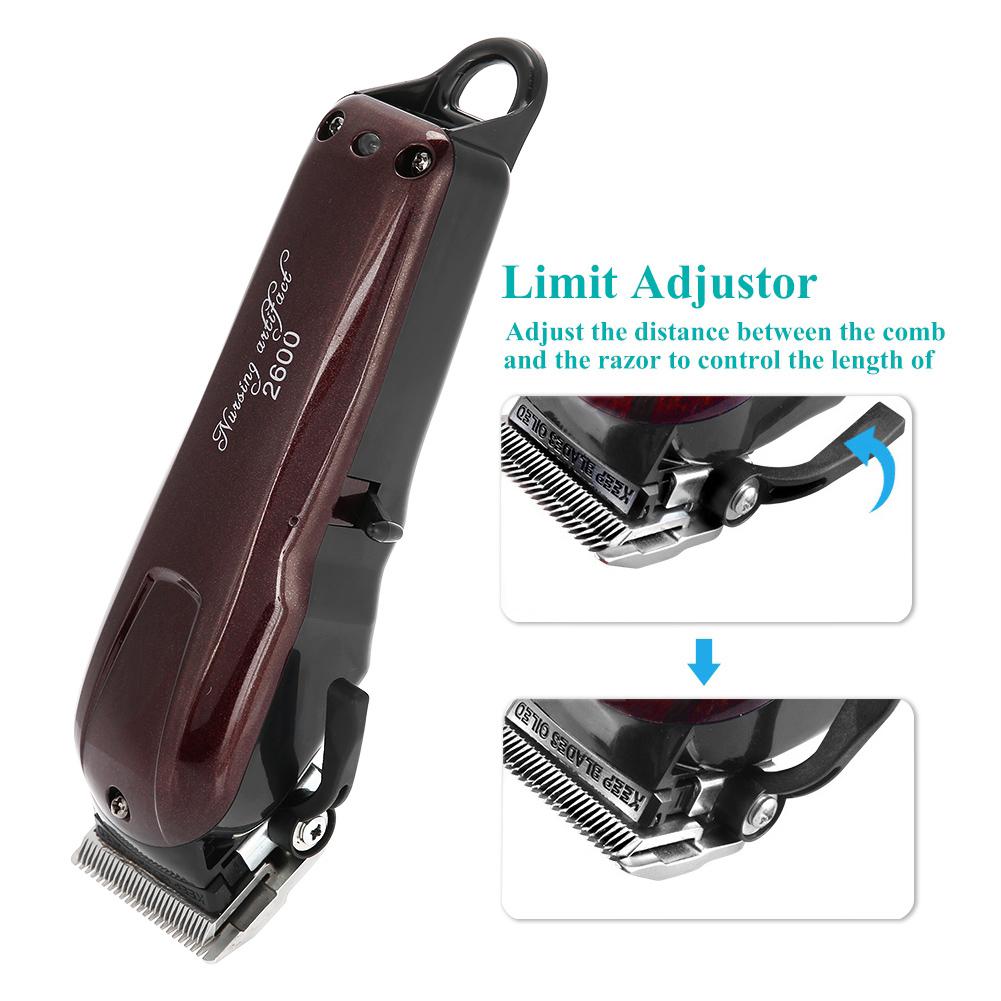 Professional Men's Electric Shaver Razor Beard Hair Clipper Trimmer Grooming GL