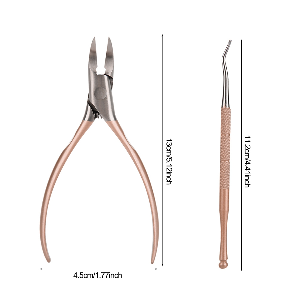Professional-Stainless-Steel-Toe-Nail-Nipper-Clipper-Cutter-Ingrown-Pedicure-mbs