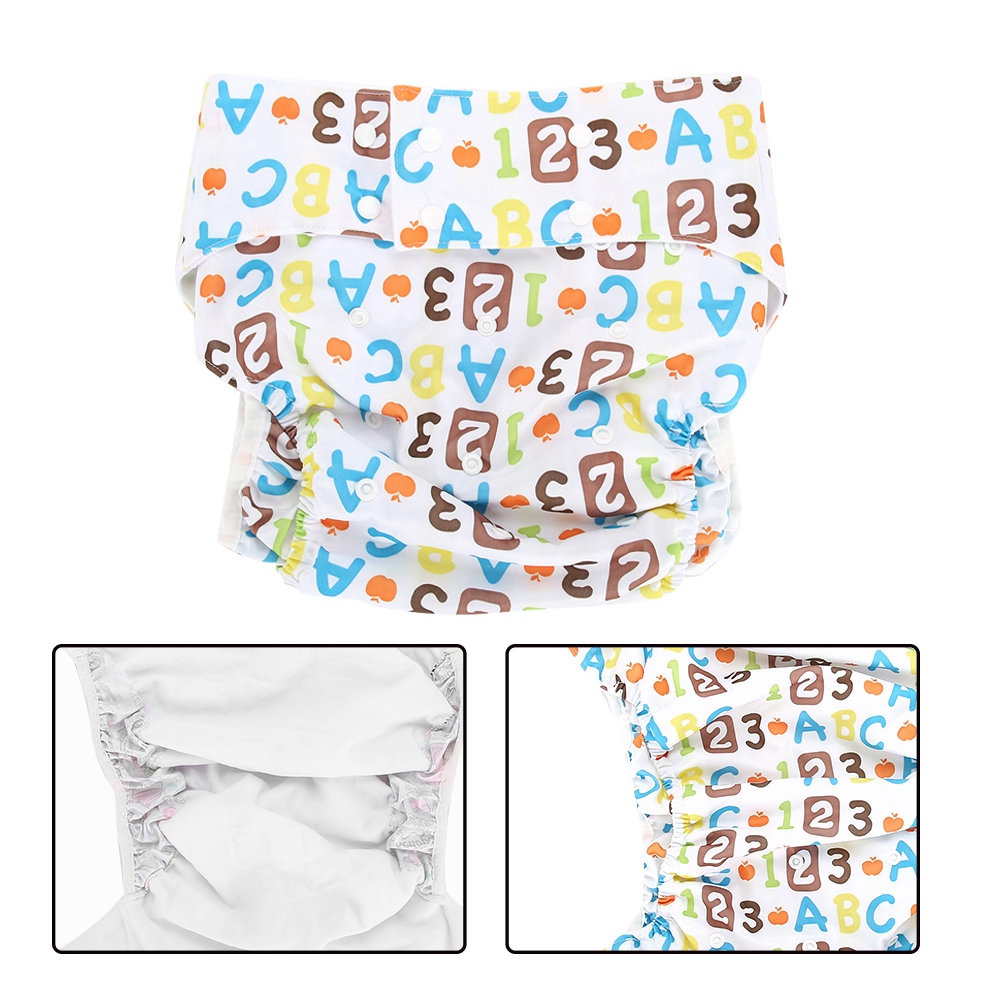 Teen-Adult-Cloth-Diaper-Nappy-Reusable-Washable-Inserts-Incontinence-Old-Age-bt miniature 31
