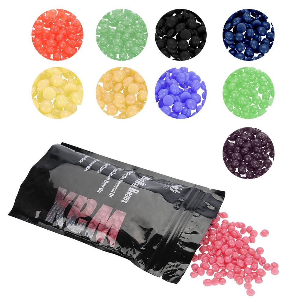 100g/Bag Hard Wax Beads Beans Waxing Hair Removal Brazilian No Strip Wax BO