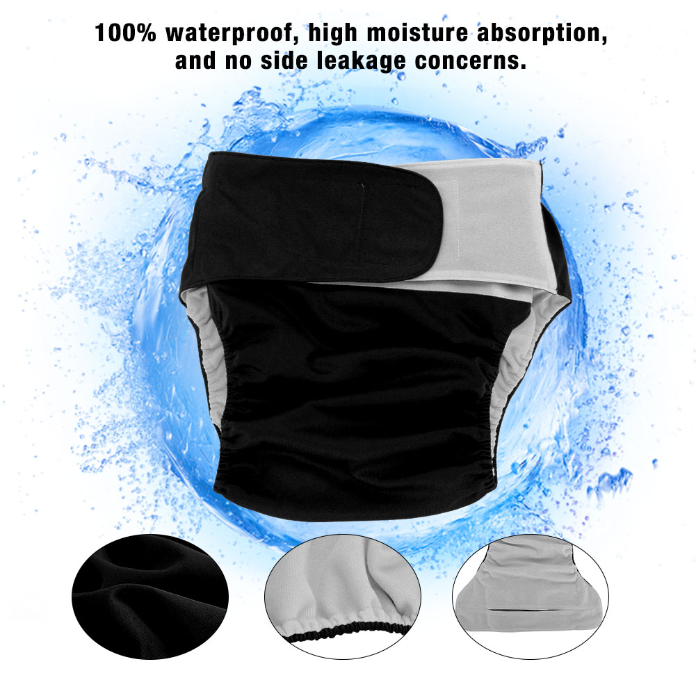 Teen-Adult-Cloth-Diaper-Nappy-Reusable-Washable-Inserts-Incontinence-Old-Age-bt miniature 17