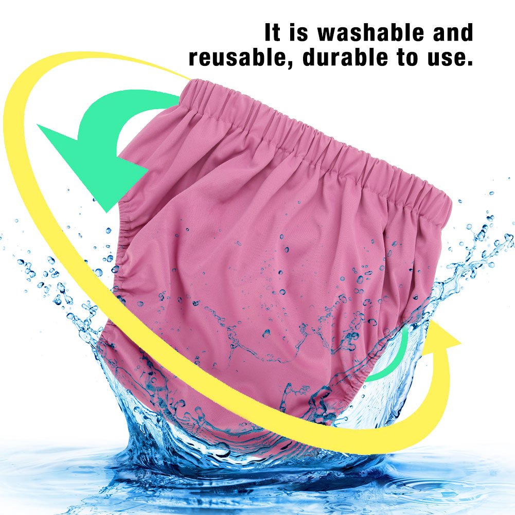 Teen-Adult-Cloth-Diaper-Nappy-Reusable-Washable-Inserts-Incontinence-Old-Age-bt miniature 22