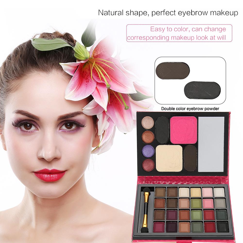 32 Colors Cosmetic Natural Eye Shadow Makeup Shimmer Matte Eyeshadow