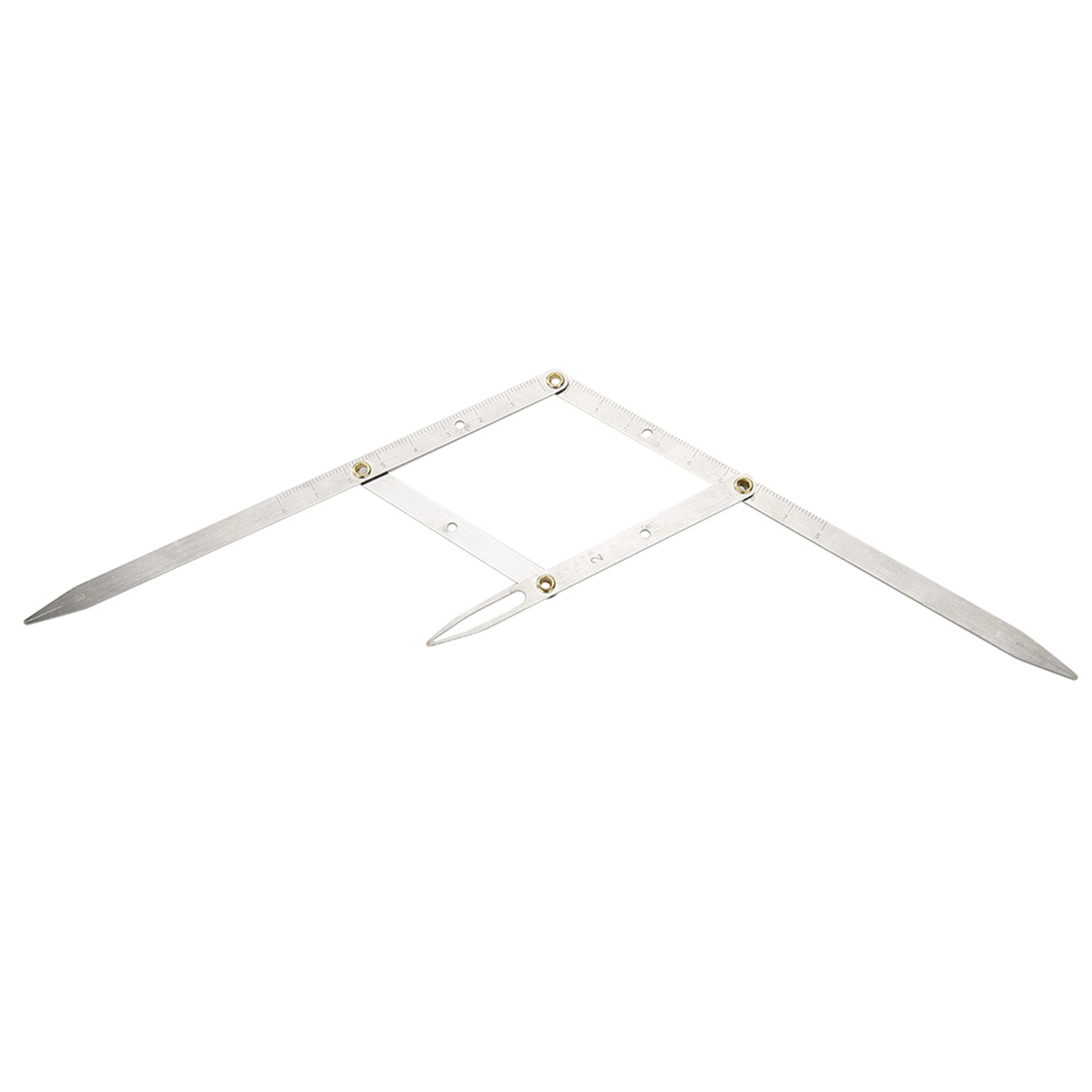 Microblading-Caliper-Ratio-Eyebrow-Measure-Ruler-Permanent-Makeup-Stencil-Tools 縮圖 2