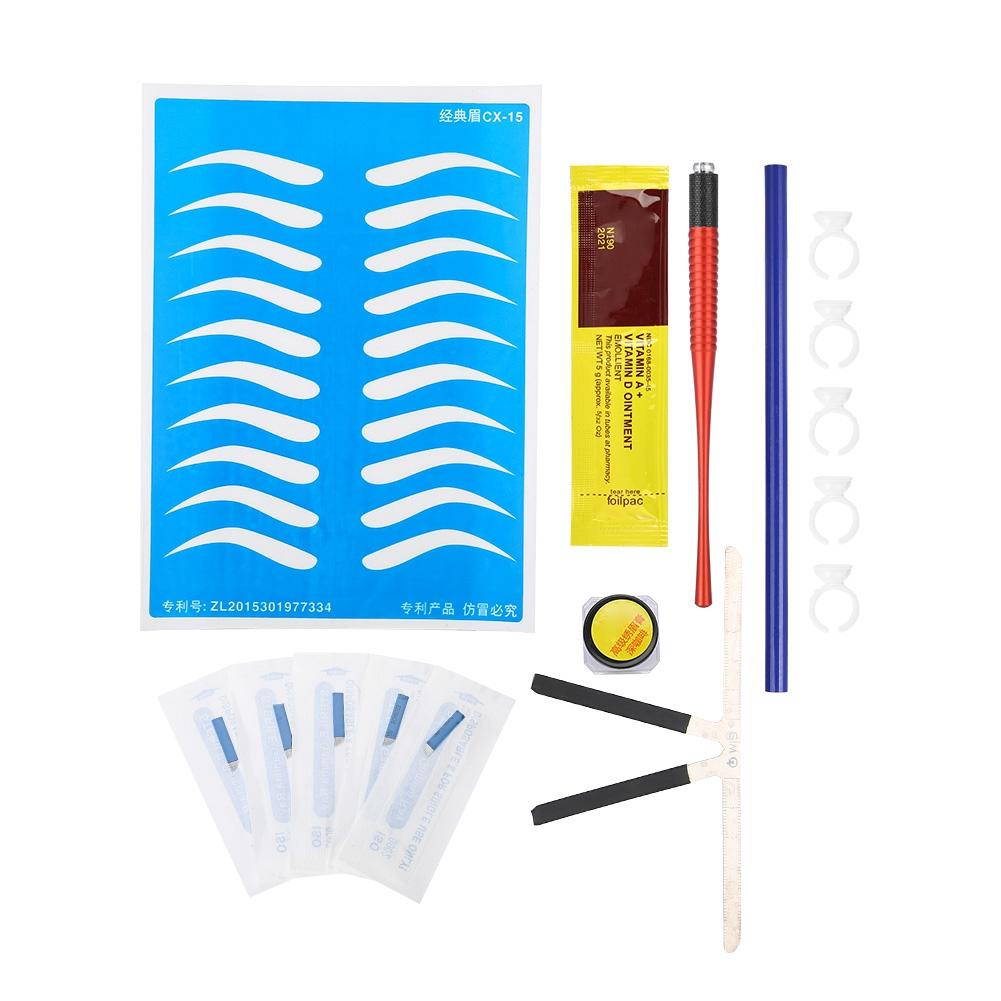 Microblading-Permanent-Makeup-Eyebrow-3D-Tattoo-Pen-Needles-