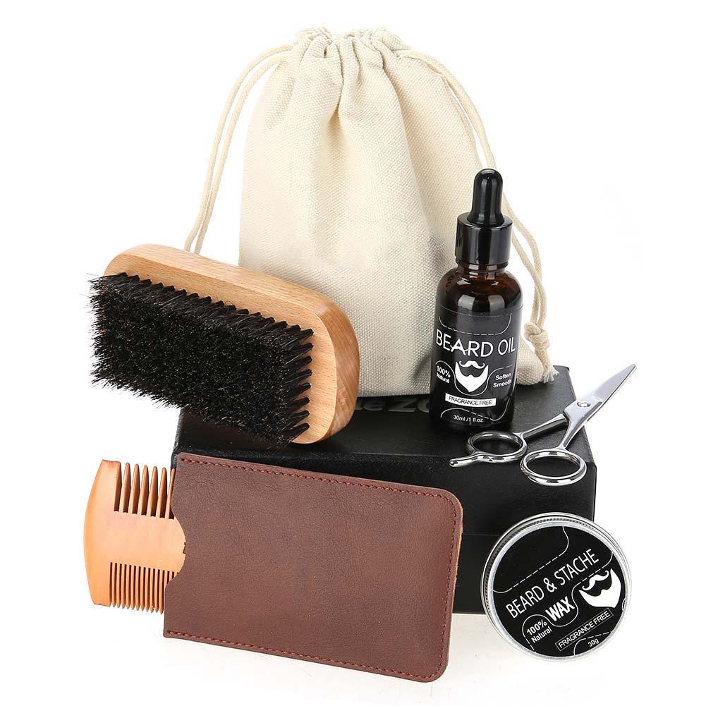 Beard-Grooming-Trimming-Kit-for-Men-Beard-Oil-Beard-Care-Styling-Shaping-Gift thumbnail 30