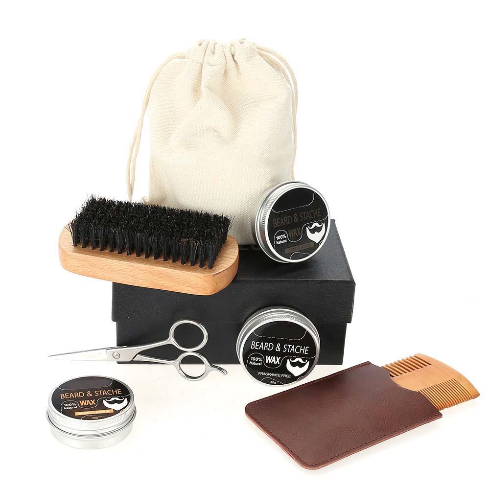 Beard-Grooming-Trimming-Kit-for-Men-Beard-Oil-Beard-Care-Styling-Shaping-Gift thumbnail 26