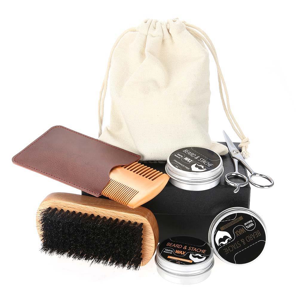 Beard-Grooming-Trimming-Kit-for-Men-Beard-Oil-Beard-Care-Styling-Shaping-Gift thumbnail 27