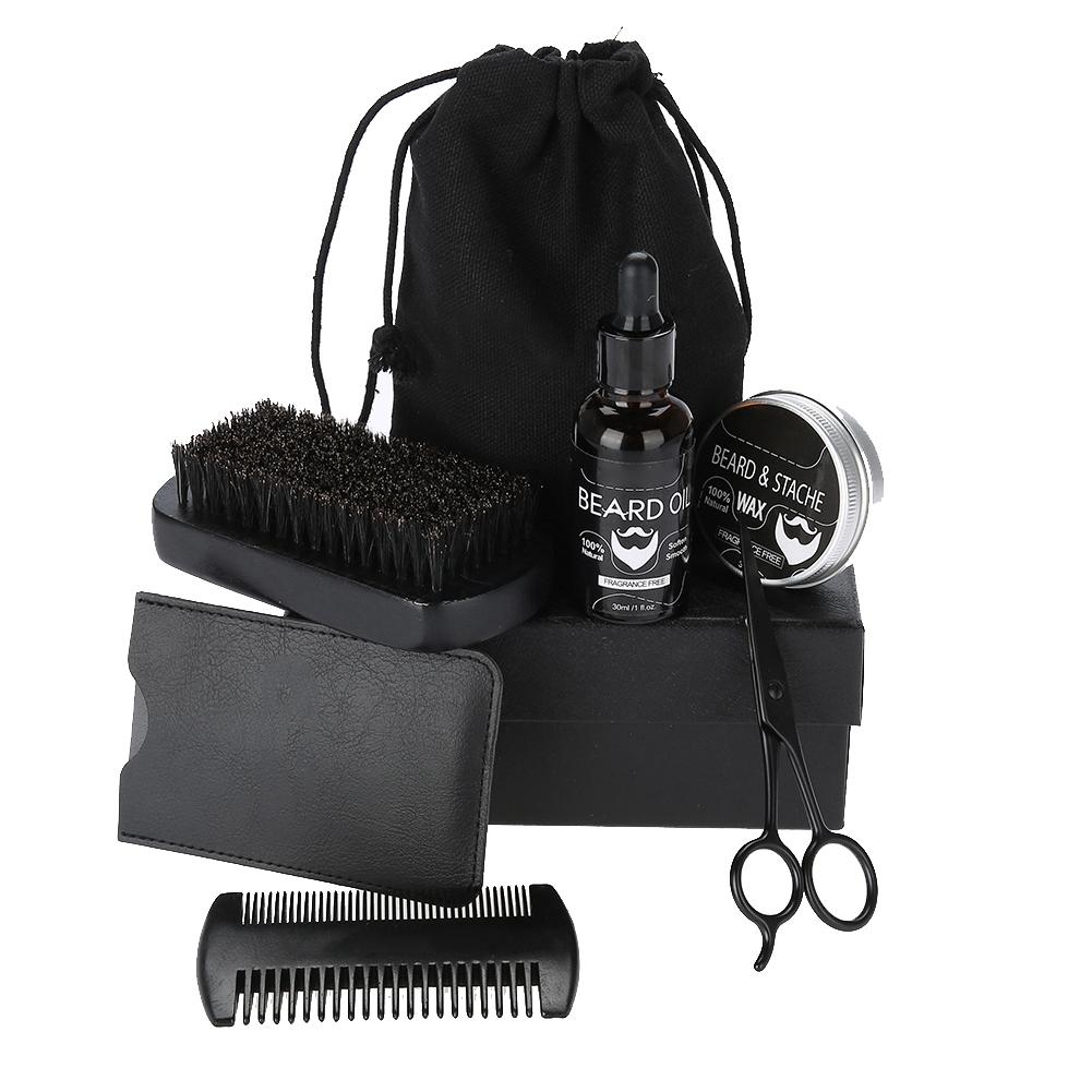 Beard-Grooming-Trimming-Kit-for-Men-Beard-Oil-Beard-Care-Styling-Shaping-Gift thumbnail 23