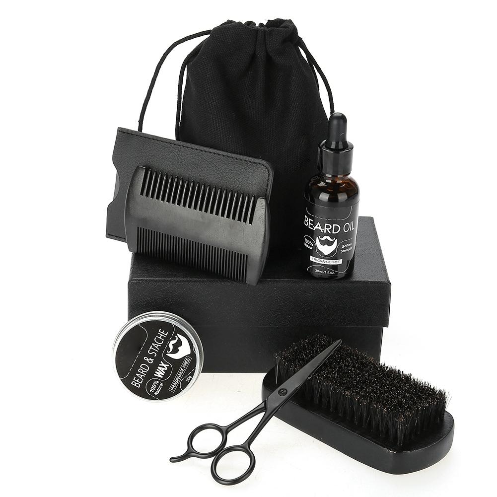 Beard-Grooming-Trimming-Kit-for-Men-Beard-Oil-Beard-Care-Styling-Shaping-Gift thumbnail 24