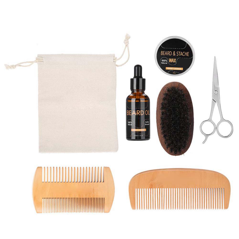Beard-Grooming-Trimming-Kit-for-Men-Beard-Oil-Beard-Care-Styling-Shaping-Gift thumbnail 21