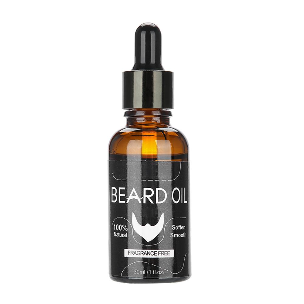 30ml-Organic-Natural-Men-Beard-Oil-Moustache-Growth-Moisturizing-Balm thumbnail 14