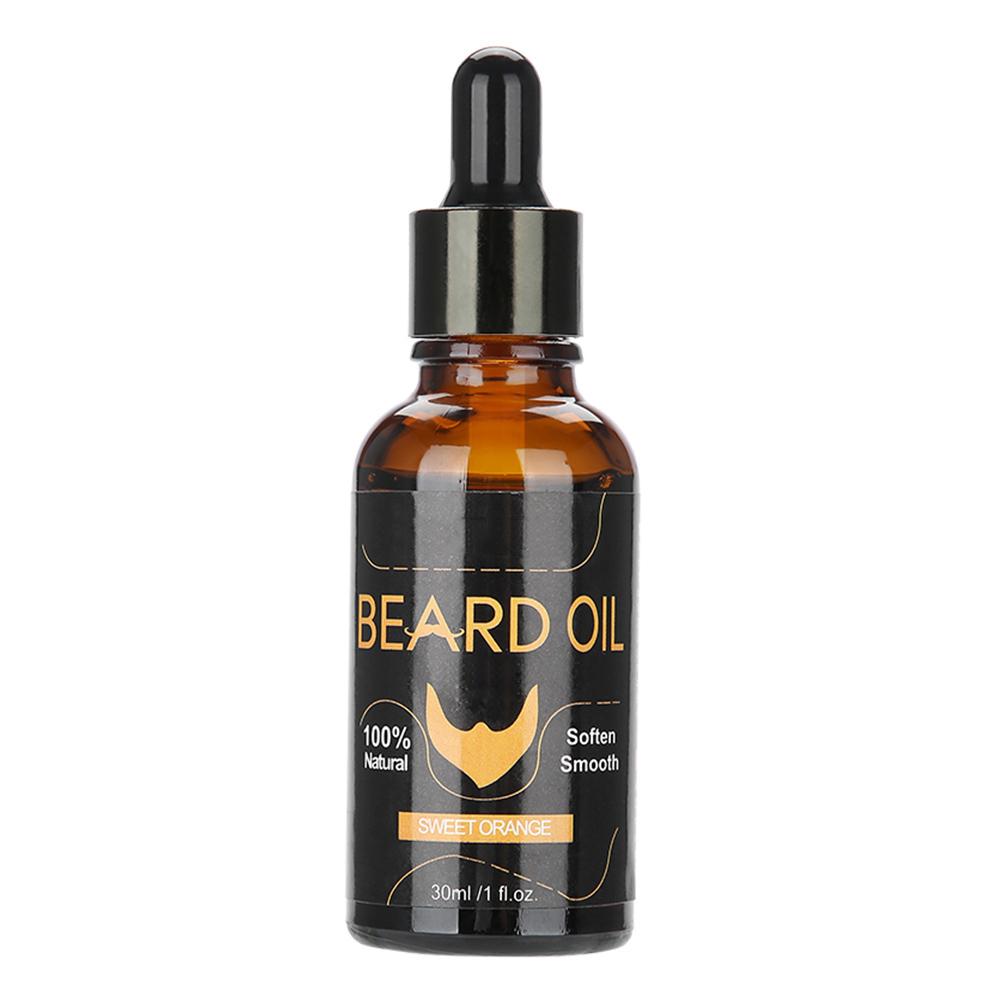30ml-Organic-Natural-Men-Beard-Oil-Moustache-Growth-Moisturizing-Balm thumbnail 17