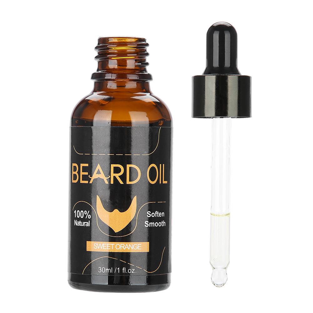 30ml-Organic-Natural-Men-Beard-Oil-Moustache-Growth-Moisturizing-Balm thumbnail 18