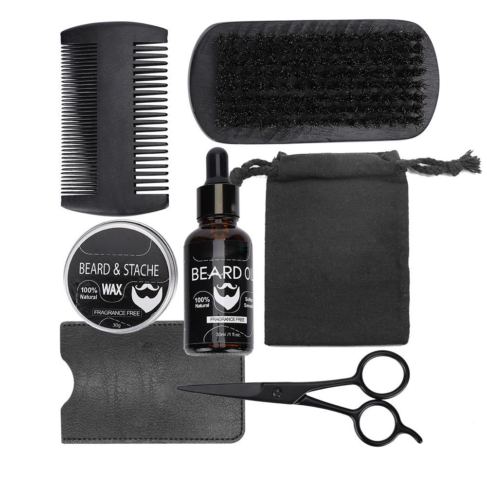Beard-Grooming-Trimming-Kit-for-Men-Beard-Oil-Beard-Care-Styling-Shaping-Gift thumbnail 15