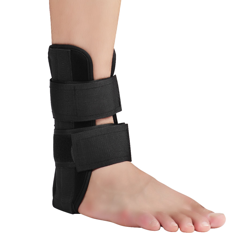 Adjustable-Ankle-Support-Foot-Drop-Brace-Orthosis-Splint-Recovery-Protector-New thumbnail 14