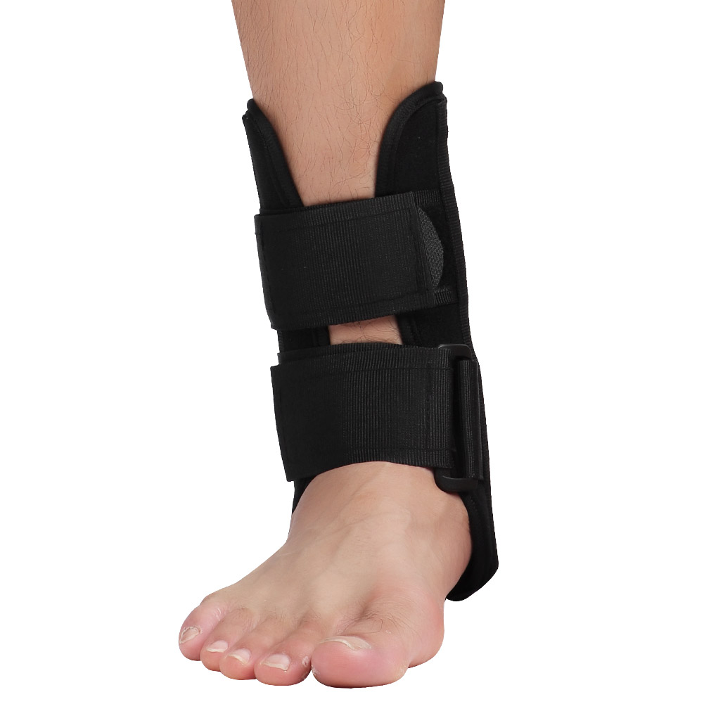 Adjustable-Ankle-Support-Foot-Drop-Brace-Orthosis-Splint-Recovery-Protector-New thumbnail 18