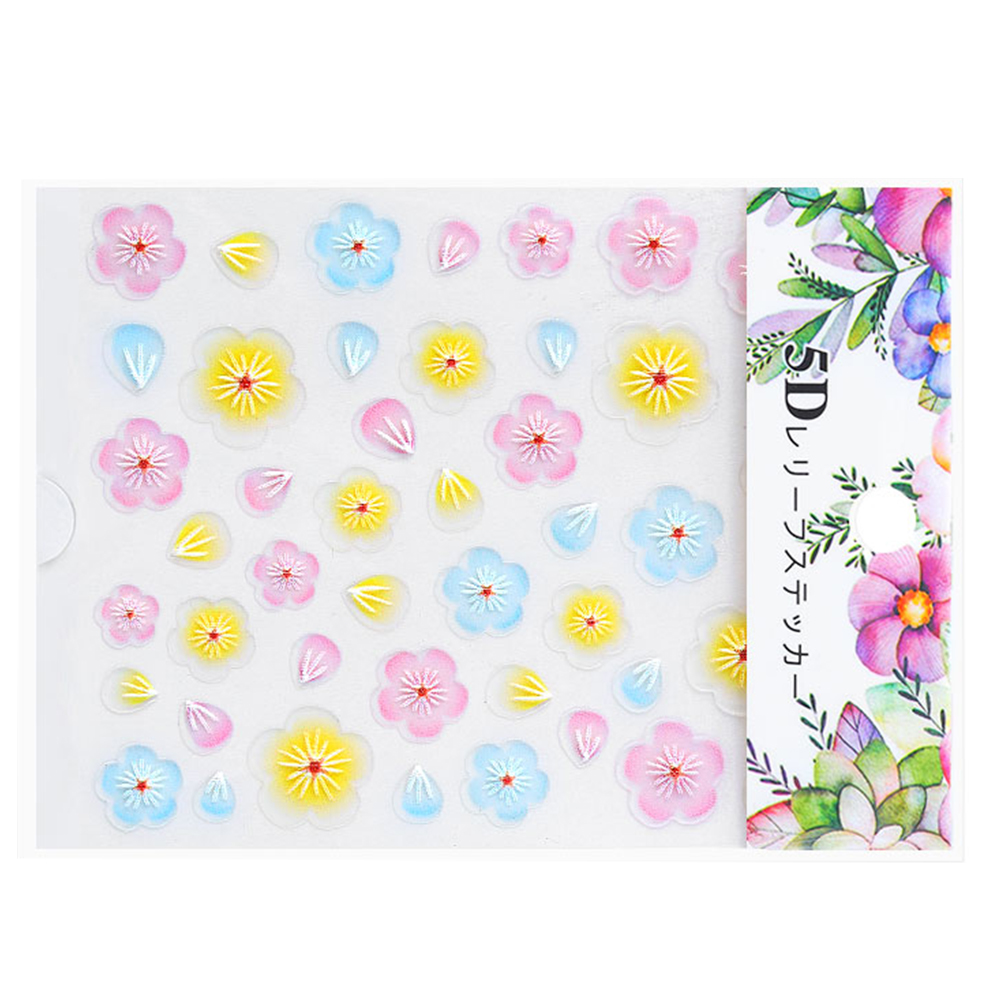 Nail-Art-Transfer-Stickers-50-Sheets-Flower-Decals-Manicure-Decoration-Tips thumbnail 17