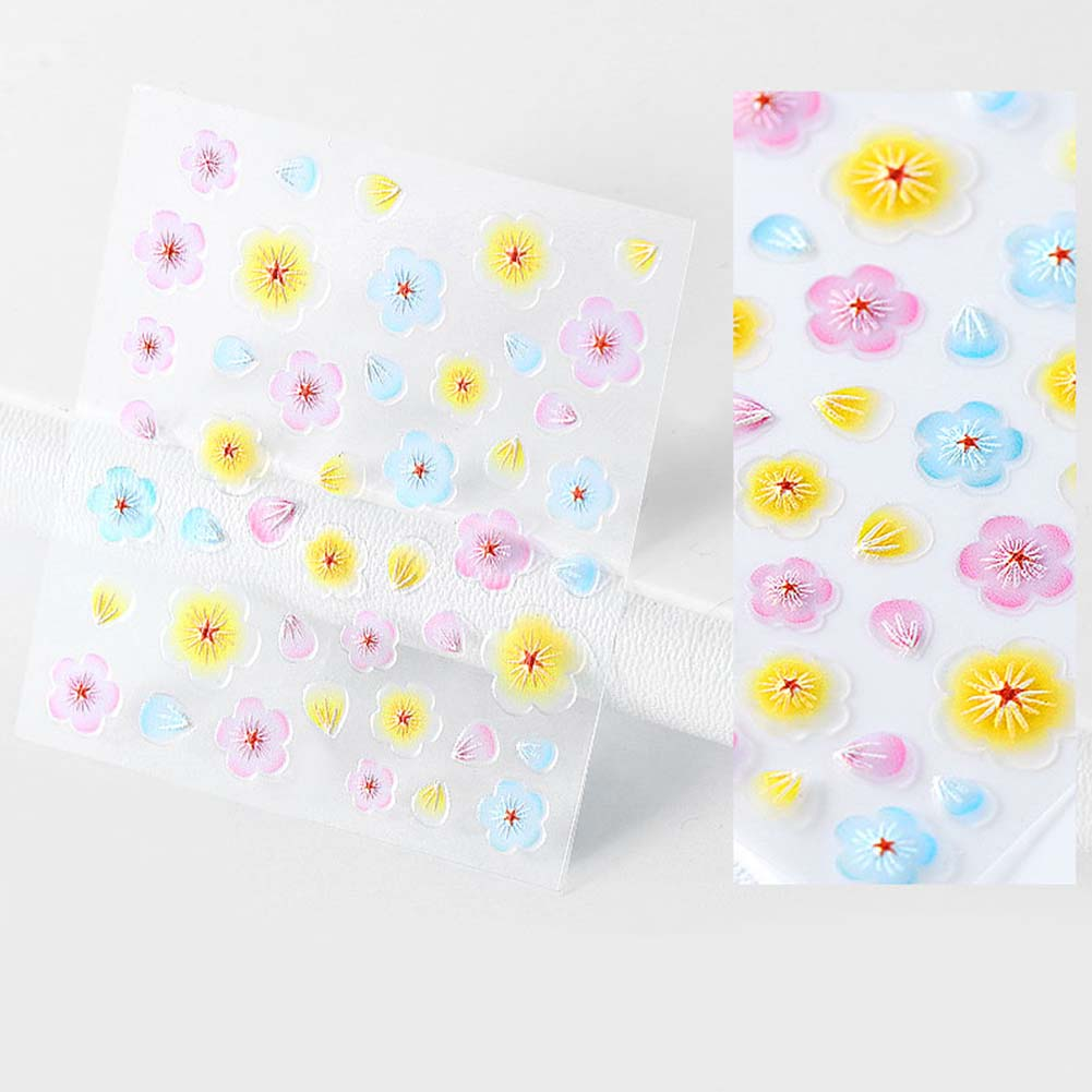 Nail-Art-Transfer-Stickers-50-Sheets-Flower-Decals-Manicure-Decoration-Tips thumbnail 18