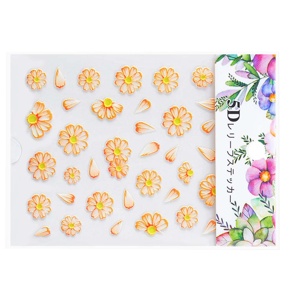 Nail-Art-Transfer-Stickers-50-Sheets-Flower-Decals-Manicure-Decoration-Tips thumbnail 20