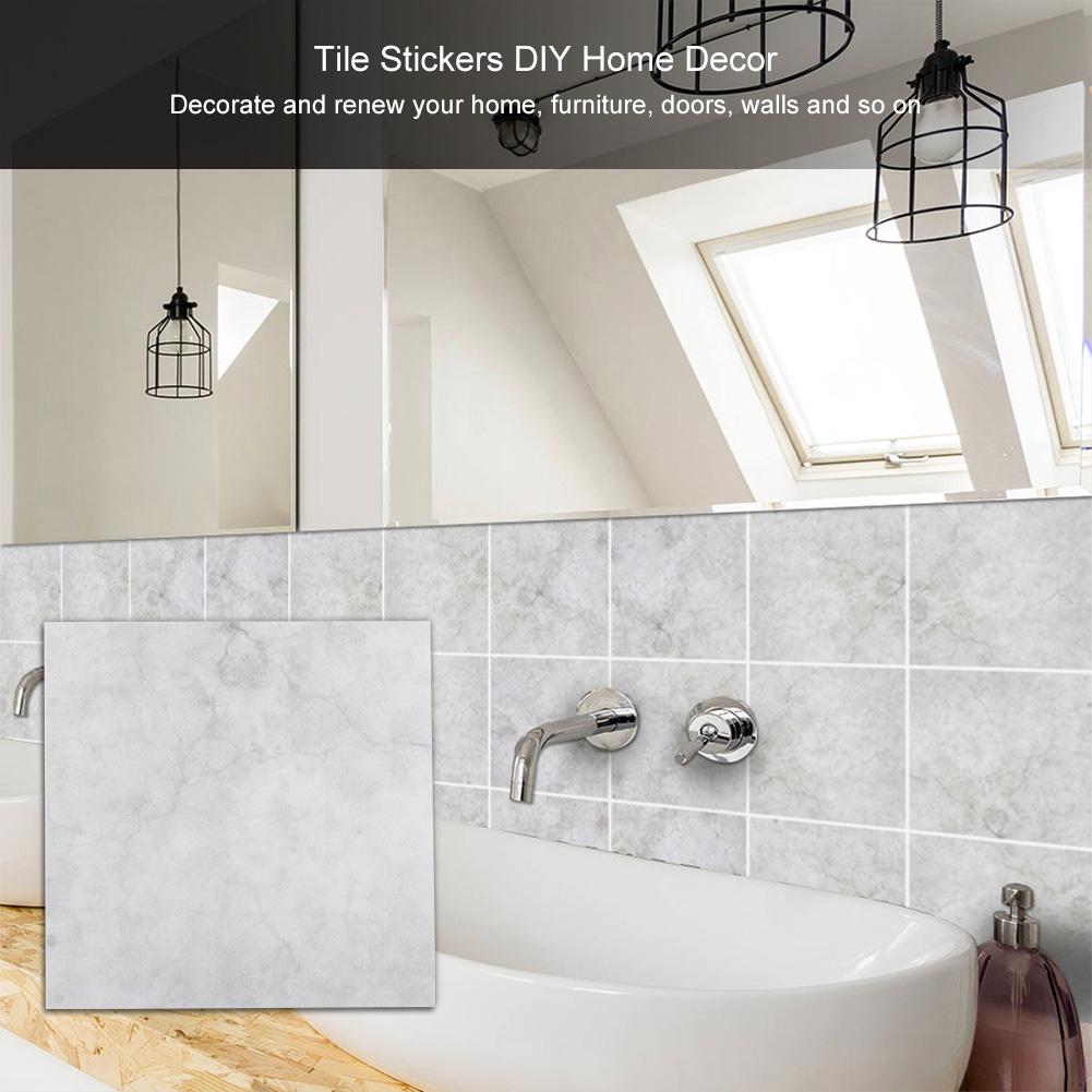 Self adhesive wall tile mosaic pvc diy sticker