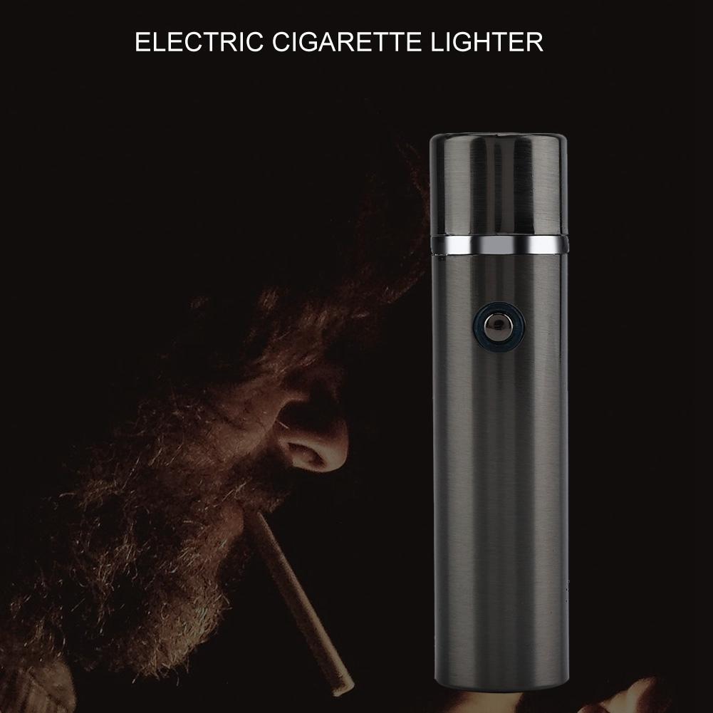 Electric-USB-Lighter-Rechargeable-Triple-Arc-4-Cross-Plasma-Windproof-Flameless miniature 14