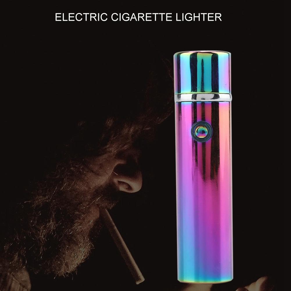 Electric-USB-Lighter-Rechargeable-Triple-Arc-4-Cross-Plasma-Windproof-Flameless miniature 17