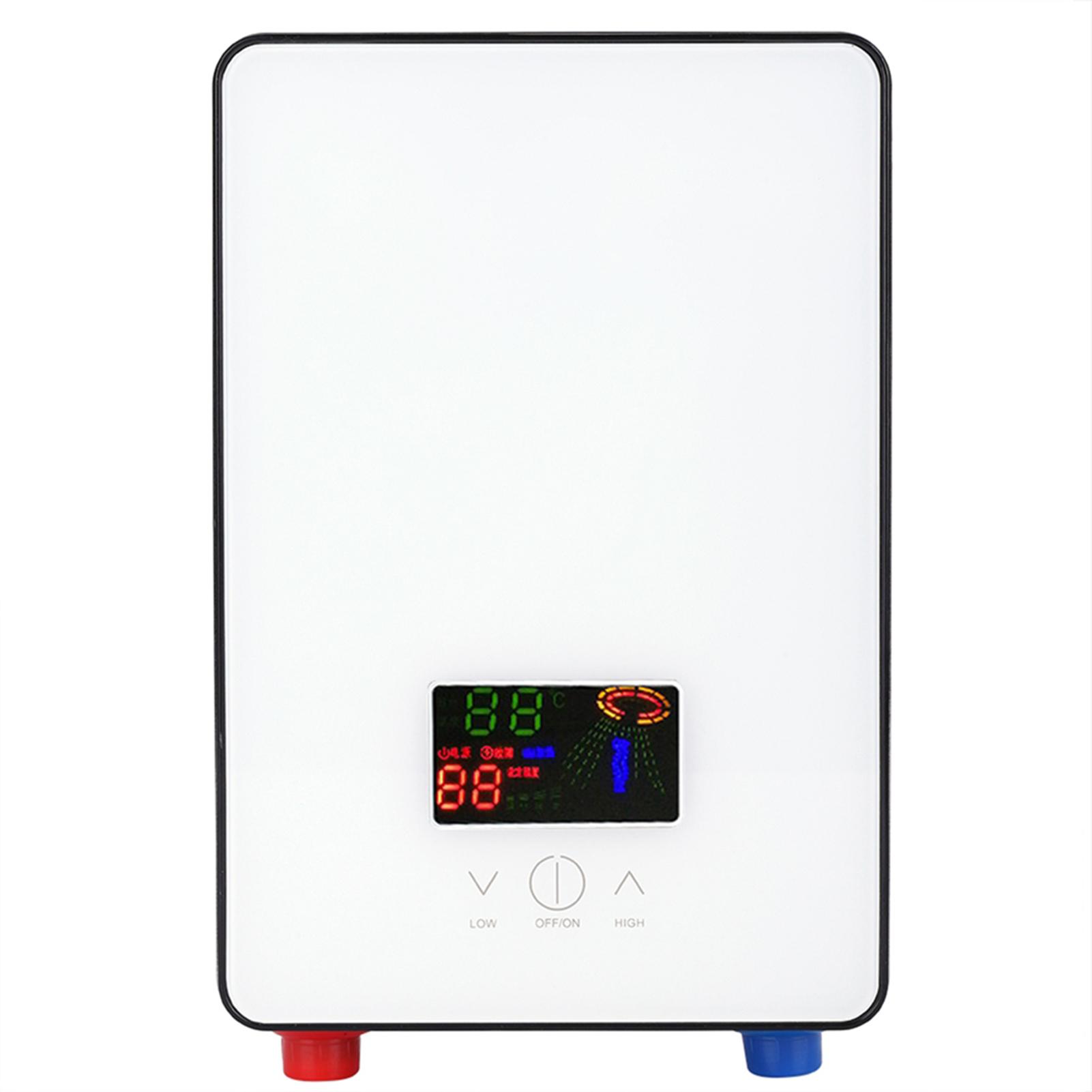 Scaldabagno scaldacqua elettrico istantaneo riscaldatore bagno doccia casa 6500w ebay - Scaldabagno elettrico istantaneo ...