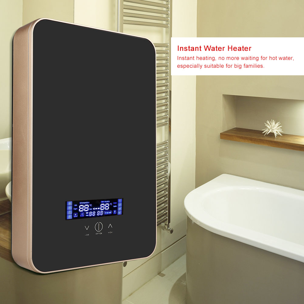 220v 6500w 8500w Tankless Instant Electric Hot Water