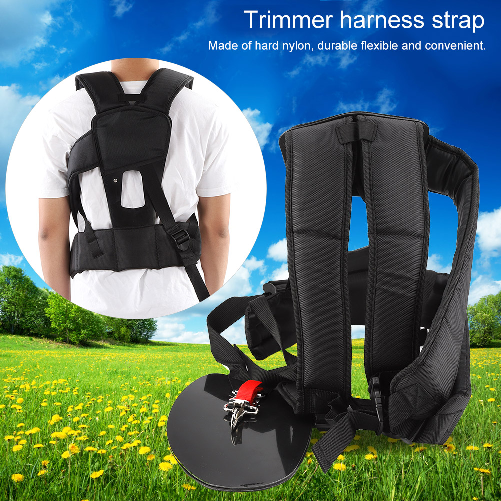 Universal Trimmer Double Shoulder Strap Mower Nylon Y-shaped Belt For Brush Cutter Garden Toolnew Garden Power Tools Tools