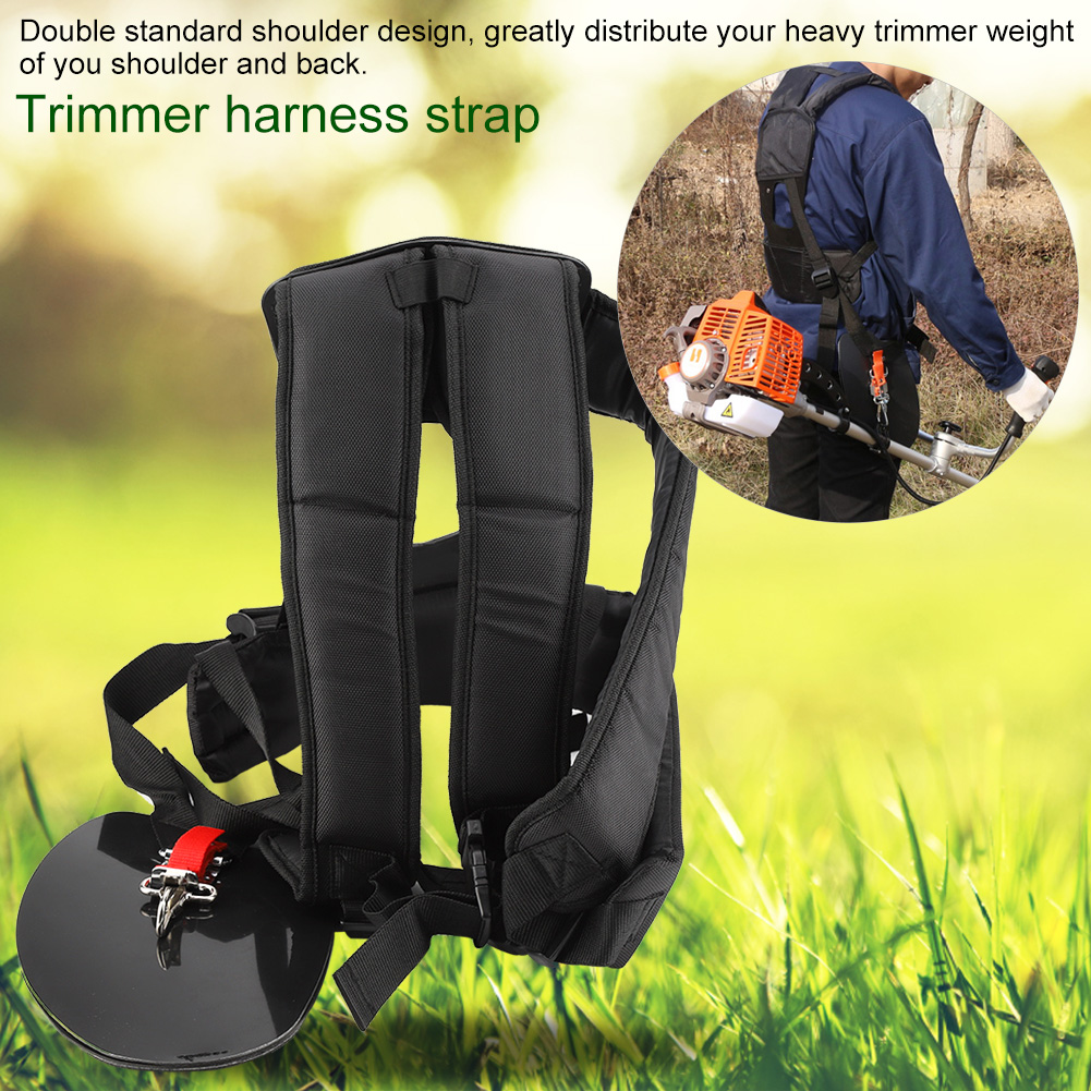 Responsible Universal Trimmer Double Shoulder Strap Mower Nylon Y-shaped Belt For Brush Cutter Garden Tool High Quality Fixing Prices According To Quality Of Products Garden Tools Pole Saws