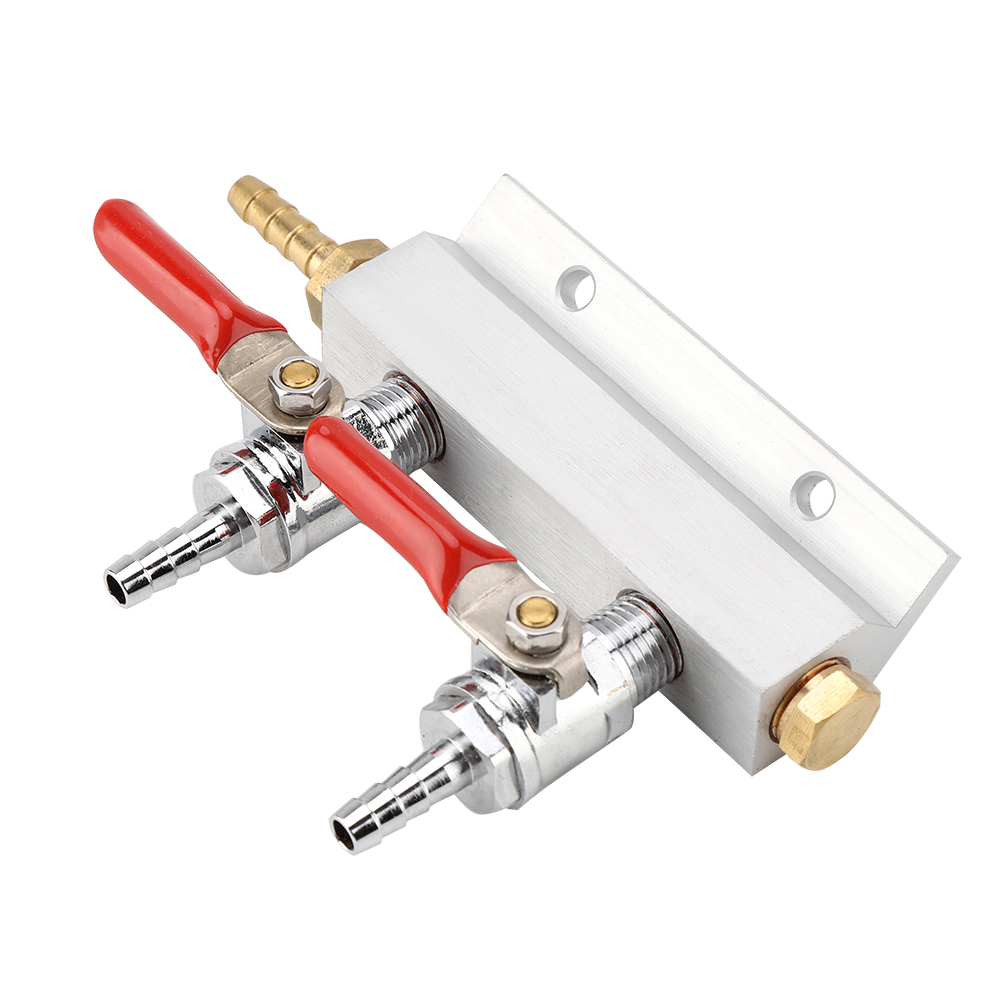 2-Way-4-Way-Splitter-CO2-Beer-Gas-Manifold-Distributor-Check-Valve-Regulator-LJ thumbnail 14
