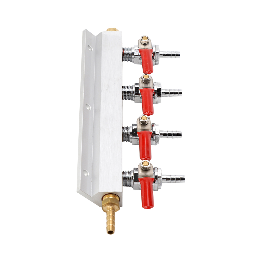 2-Way-4-Way-Splitter-CO2-Beer-Gas-Manifold-Distributor-Check-Valve-Regulator-LJ thumbnail 18