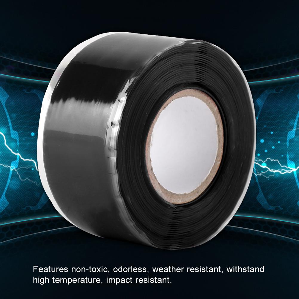 Gummi-Silikon-Reparatur-Rohr-Draht-wasserdicht-Bonding-Tape-Rescue-Self-Fusing-Draht Indexbild 14