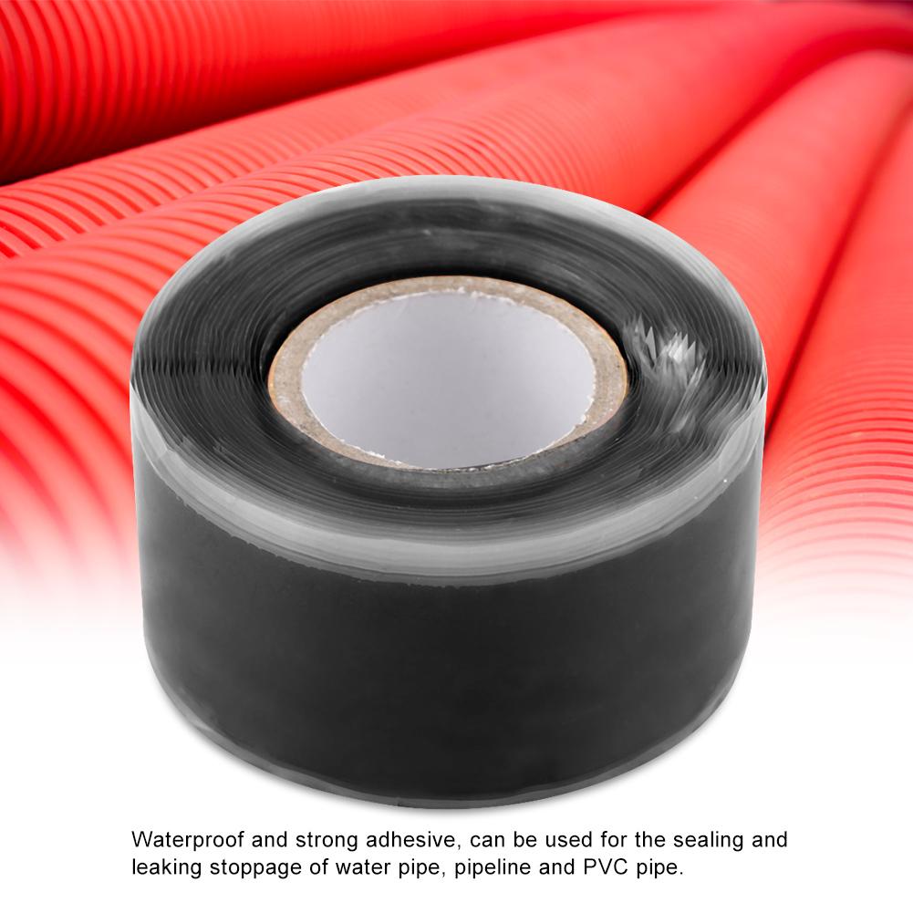 Gummi-Silikon-Reparatur-Rohr-Draht-wasserdicht-Bonding-Tape-Rescue-Self-Fusing-Draht Indexbild 15