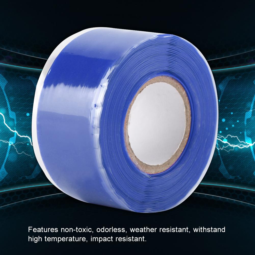 Gummi-Silikon-Reparatur-Rohr-Draht-wasserdicht-Bonding-Tape-Rescue-Self-Fusing-Draht Indexbild 20