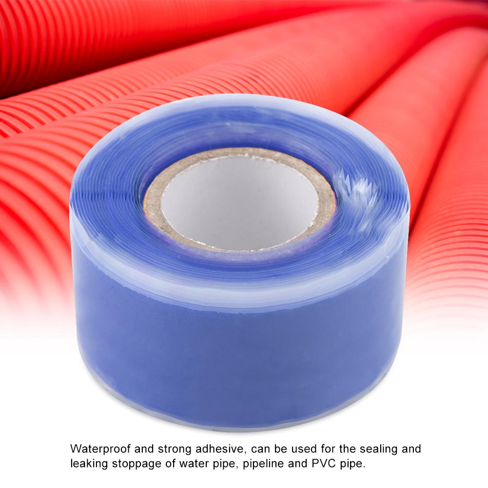 Gummi-Silikon-Reparatur-Rohr-Draht-wasserdicht-Bonding-Tape-Rescue-Self-Fusing-Draht Indexbild 21