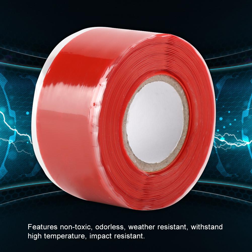 Gummi-Silikon-Reparatur-Rohr-Draht-wasserdicht-Bonding-Tape-Rescue-Self-Fusing-Draht Indexbild 23